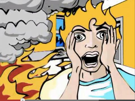 Richtiges Verhalten im Brandfall